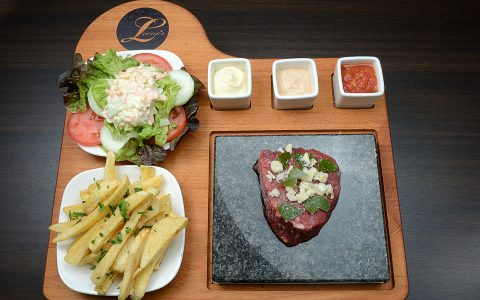 Leeno's Steak on the stone - Funchal Madeira