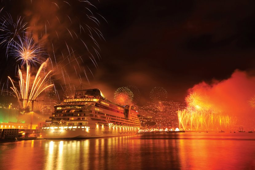 Funchal Madeira New Years Eve Fireworks